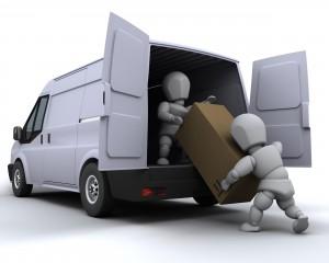 Loading Removal Van